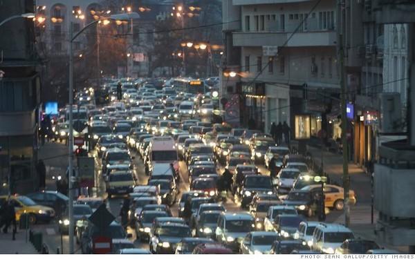 10 thành phố bị tắc đường kinh khủng nhất vào giờ cao điểm - ảnh 7
