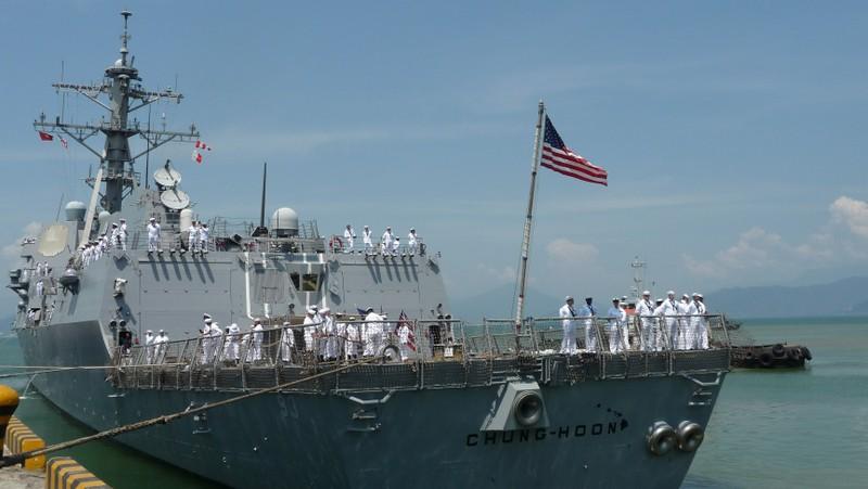 Hai tàu chiến Hải quân Hoa Kỳ sẽ thăm Đà Nẵng - ảnh 1