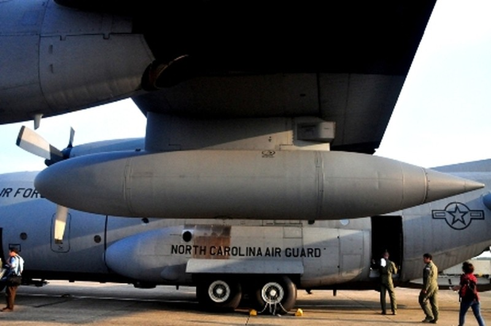 Bình nhiên liệu ở hai cánh có thể chứa được 5 tấn nhiên liệu