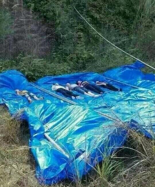 Em bé ngã xuống hồ, 6 người thân nhảy xuống cứu nhưng đều thiệt mạng - ảnh 1