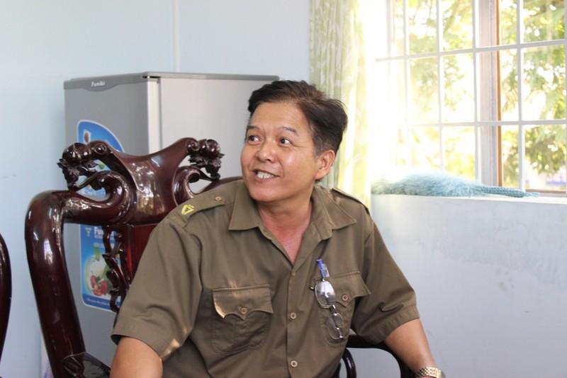 Phó Công an xã Tóc Tiên xác nhận có nhận tin báo từ anh Toàn hồi tháng 6/2014