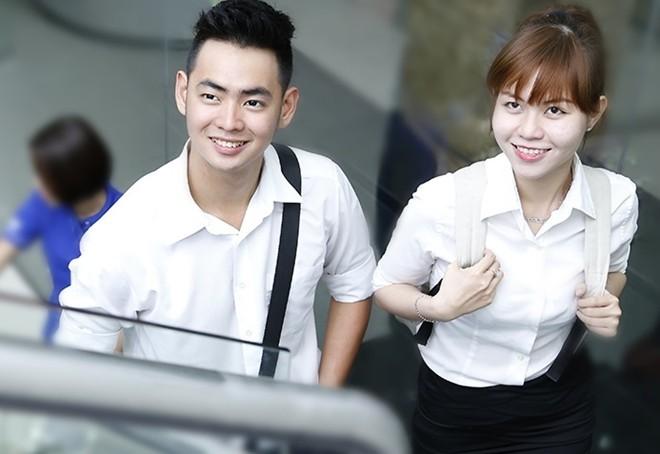 Sinh viên trường CĐ Nghề Việt Mỹ. Ảnh: Website nhà trường.