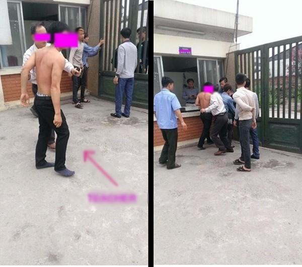 Hà Nội: Học sinh đánh thầy giáo vỡ mũi ngay trước cổng trường - ảnh 1