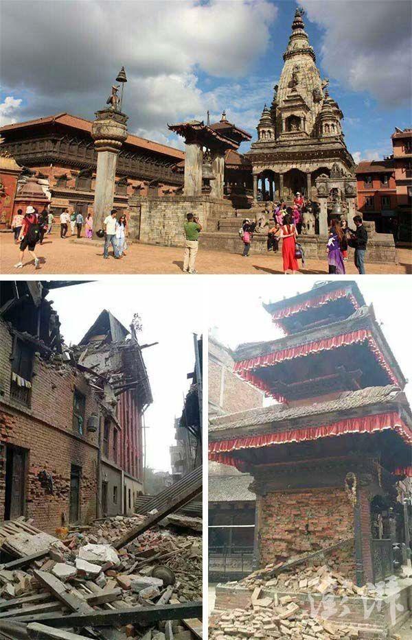 Chùm ảnh: Nepal trước và sau thảm họa động đất - ảnh 8