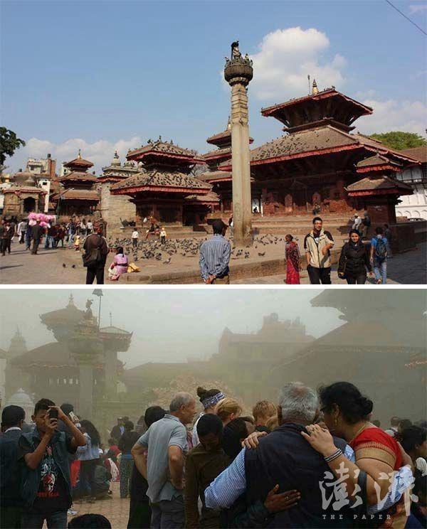 Chùm ảnh: Nepal trước và sau thảm họa động đất - ảnh 2