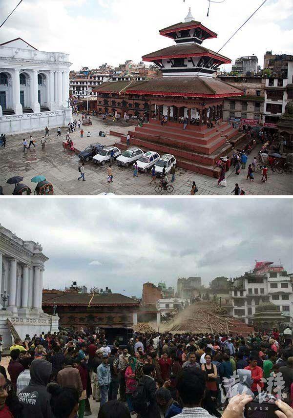 Chùm ảnh: Nepal trước và sau thảm họa động đất - ảnh 3