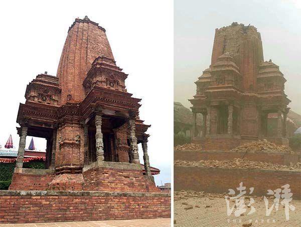 Chùm ảnh: Nepal trước và sau thảm họa động đất - ảnh 4