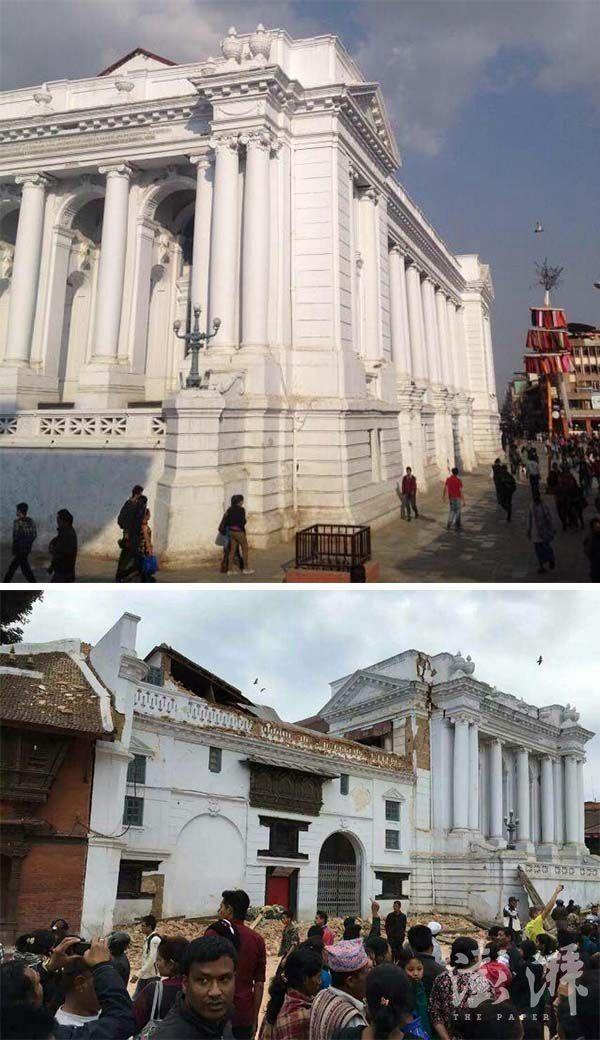 Chùm ảnh: Nepal trước và sau thảm họa động đất - ảnh 5
