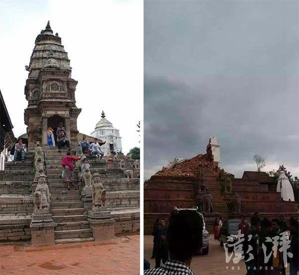 Chùm ảnh: Nepal trước và sau thảm họa động đất - ảnh 6