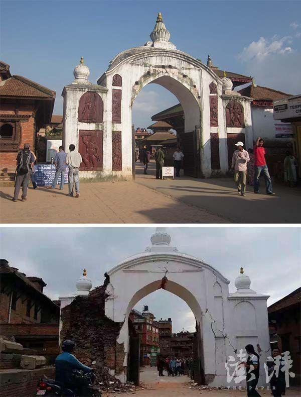 Chùm ảnh: Nepal trước và sau thảm họa động đất - ảnh 7