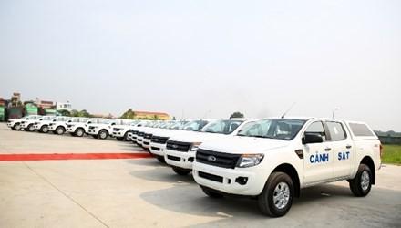 Bộ Công an, tiếp nhận, xe bán tải, Ford Ranger