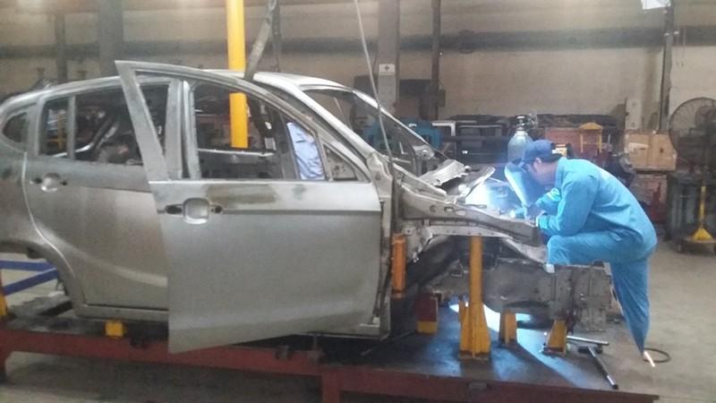 Cận cảnh xe ô tô 4 chỗ giá rẻ mang thương hiệu Việt - ảnh 1