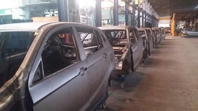 Cận cảnh xe ô tô 4 chỗ giá rẻ mang thương hiệu Việt - ảnh 3