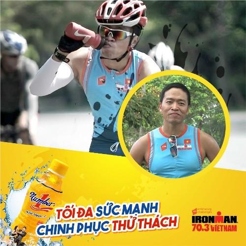 Người nổi tiếng tham gia chinh phục thử thách Ironman 70.3 Việt Nam - ảnh 3