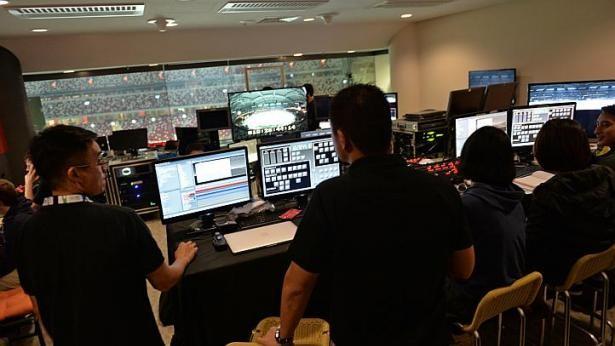 SEA Games Singapore: Hệ thống đèn chiếu laser hiện đại nhất thế giới - ảnh 1