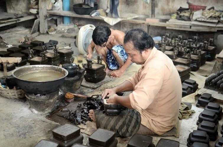 Làng đúc đồng duy nhất ở Sài Gòn - ảnh 2