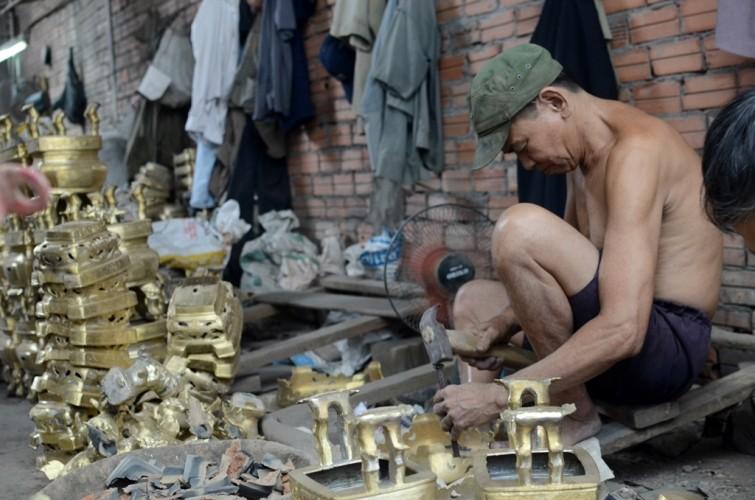Làng đúc đồng duy nhất ở Sài Gòn - ảnh 4