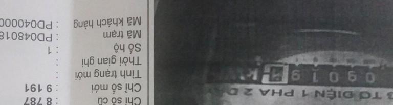 Hóa đơn điện tăng cao vì ghi sai số công tơ  - ảnh 1