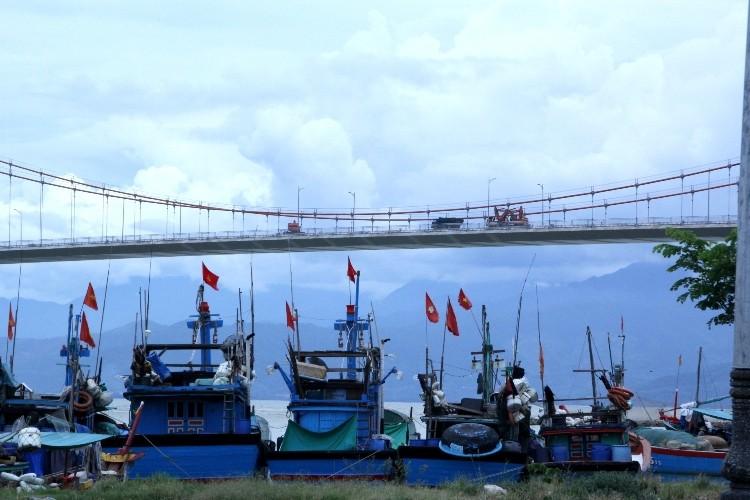 Cấm xe qua cầu Thuận Phước trong 5 ngày - ảnh 1