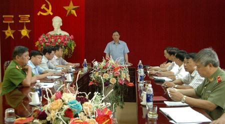 Thảm sát Yên Bái: Công an tỉnh đang họp báo thông tin về vụ án - ảnh 1