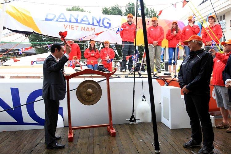 Đặt tên thuyền buồm Đà Nẵng-Việt Nam tại London  - ảnh 1