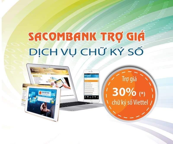 Sacombank ưu đãi đăng ký nộp thuế điện tử - ảnh 1