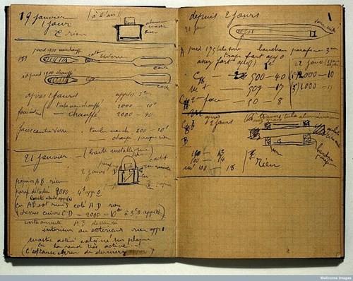 1500 năm sau, sổ tay của Marie Curie vẫn chưa hết nhiễm xạ - ảnh 3