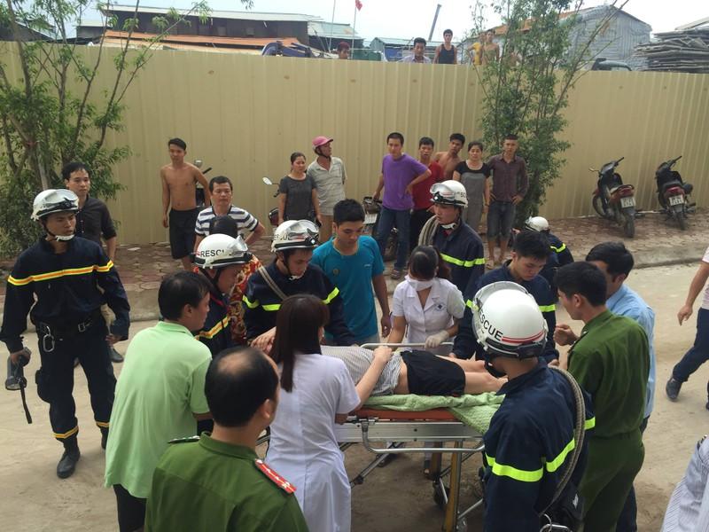 Hà Nội: Cháy lớn tại chung cư hàng chục tầng  - ảnh 1