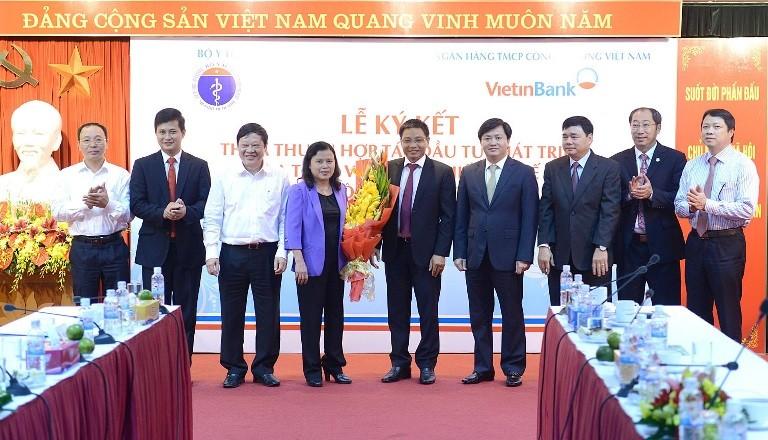 VietinBank đồng hành phát triển với ngành y tế - ảnh 2