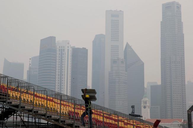 Hủy World Cup bơi lội tại Singapore vì ô nhiễm - ảnh 1