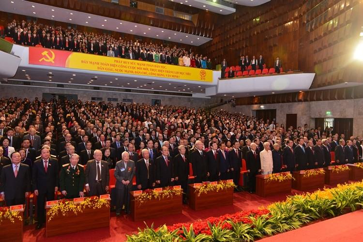 Khai mạc Đại hội Đảng bộ Hà Nội: Chọn người có tư duy đổi mới - ảnh 1
