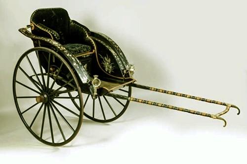 Cổ vật xe kéo tay của Hoàng thái hậu Từ Minh lưu lạc đã trở về VN - ảnh 1