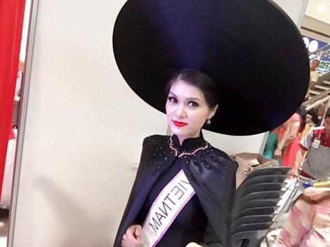 Thi 'chui': Hoa hậu Oanh Yến sẽ bị cưỡng chế nếu không nộp phạt - ảnh 1