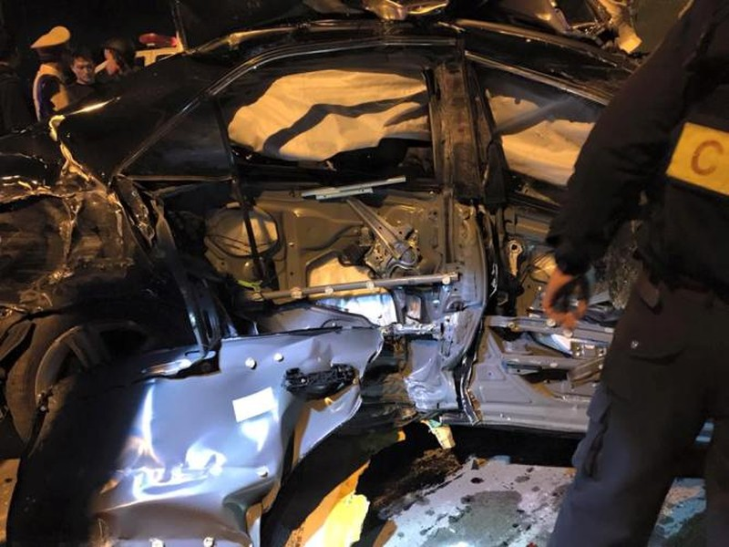 Tai nạn liên hoàn, 1 người chết, 6 người bị thương nặng - ảnh 2