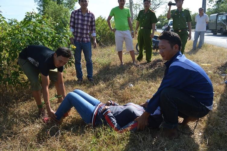 Thực nghiệm hiện trường vụ cướp, hiếp dâm làm chết một phụ nữ - ảnh 5