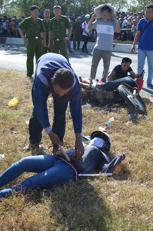 Thực nghiệm hiện trường vụ cướp, hiếp dâm làm chết một phụ nữ - ảnh 4