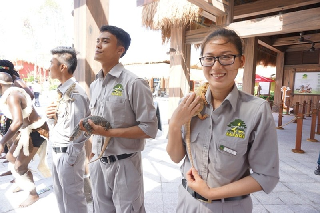 Khai trương vườn thú bán hoang dã lớn nhất châu Á  - ảnh 8