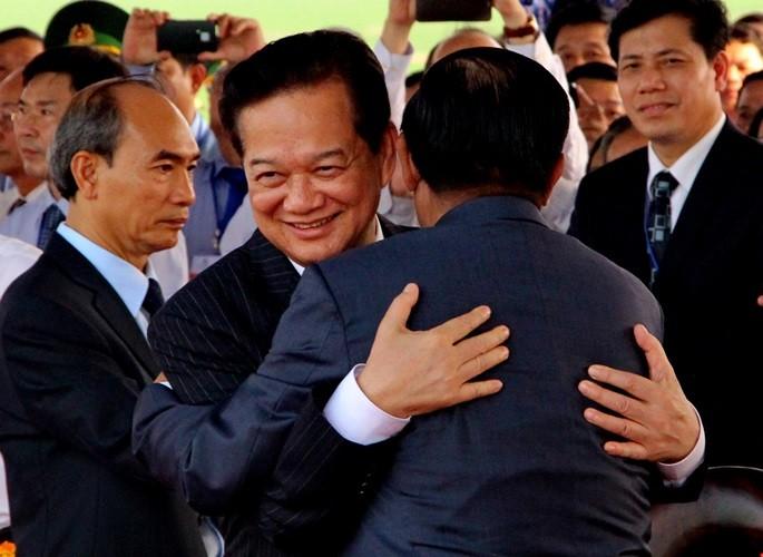 Khánh thành cột mốc  biên giới Việt Nam - Campuchia - ảnh 2