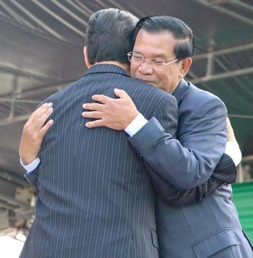 Khánh thành cột mốc  biên giới Việt Nam - Campuchia - ảnh 3
