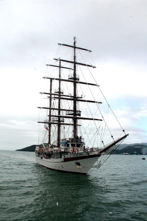Chùm ảnh: Đón tàu buồm huấn luyện hải quân về nước - ảnh 5