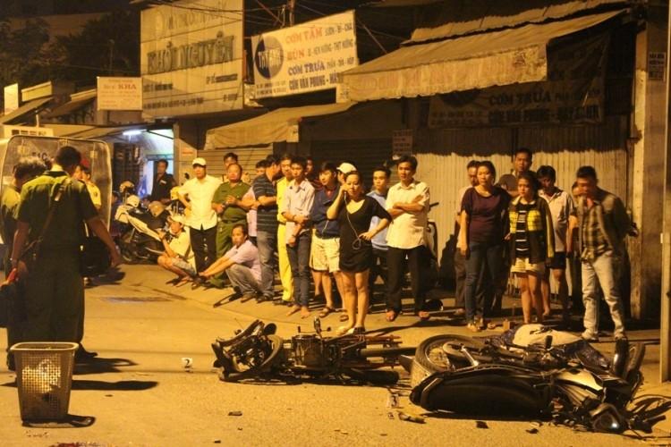 Tông xe máy trực diện, ba thanh niên gặp nạn lúc giáp tết - ảnh 2
