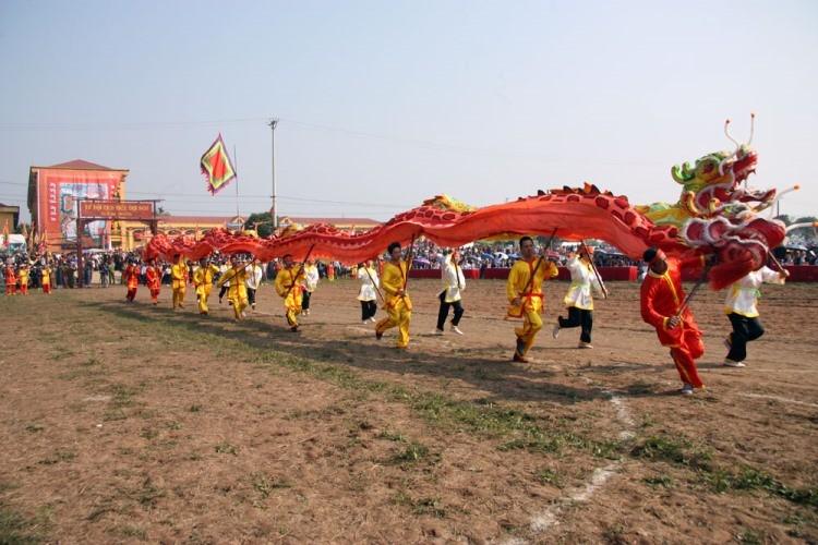 Khai hội 'Vua' xuống ruộng làm lễ Tịch điền - ảnh 7
