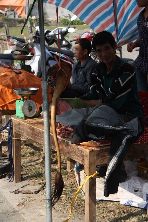 Hàng trăm con bê bị giết thịt tại chợ 'bán rủi cầu may' - ảnh 7