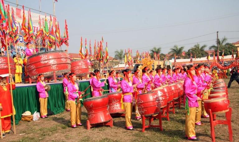 Khai hội 'Vua' xuống ruộng làm lễ Tịch điền - ảnh 9
