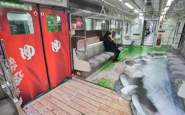 Những chuyến tàu điện có một không hai ở Seoul - Ảnh 4.