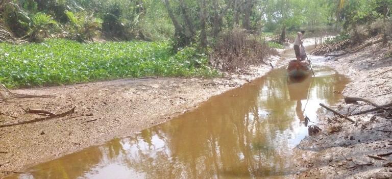 Xâm mặn 90 km, nửa triệu dân thiếu nước sinh hoạt trầm trọng - ảnh 3