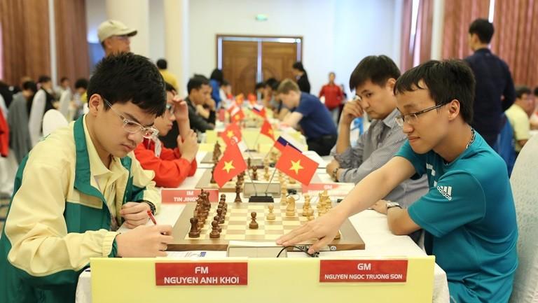 Giải cờ vua HDBank 2016: Chủ nhà hết cơ hội tranh ngôi vô địch - ảnh 1