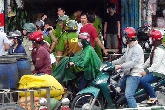 Phát hiện vật lạ nghi là chất nổ ở quận Tân Bình  - ảnh 2