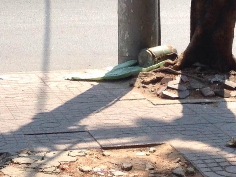 Phát hiện vật lạ nghi là chất nổ ở quận Tân Bình  - ảnh 1