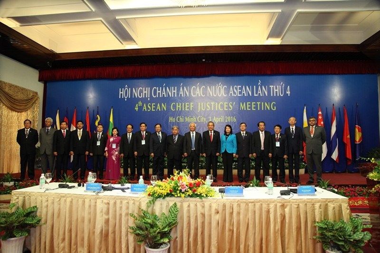 Khai mạc Hội nghị chánh án các nước ASEAN lần thứ 4 tại TP.HCM - ảnh 1